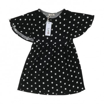 lumik-Black Dots Formal Dress-