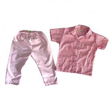 lumik-Pajamas Pink Stripes-