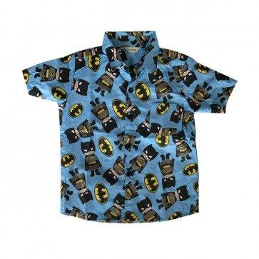 lumik-Blue Batman Baby Shirt-