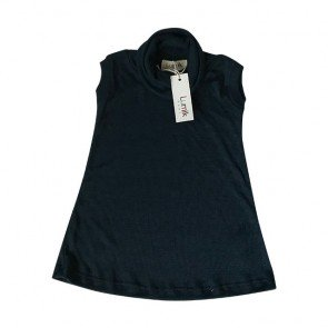 lumik-Navy Turtleneck-