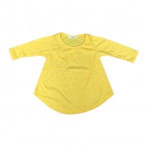 lumik-Lumik Yellow Plain Girly Long Sleeve-