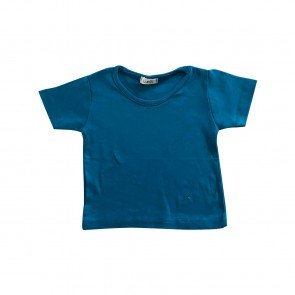 lumik-Lumik Blue Plain Tee Basic-