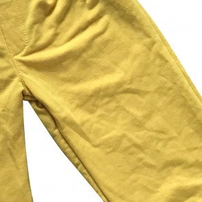 lumik-Lumik Yellow Plain Kulot Pants-