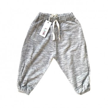 lumik-Grey Plain Jogger-