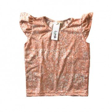 lumik-Pinky Abstract Tee-