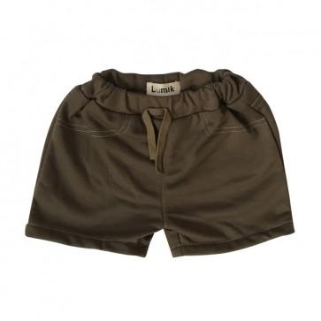 lumik-Army Brown Short-