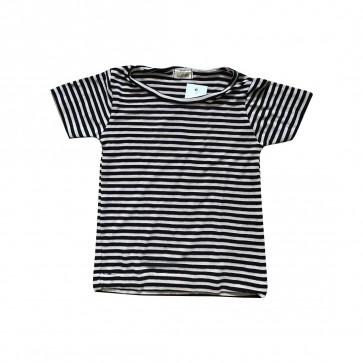lumik-Lumik Black Stripe Tee Basic-