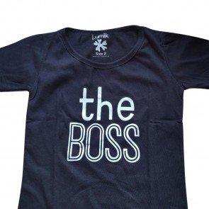 lumik-Lumik Black The Boss Tee Special Store-