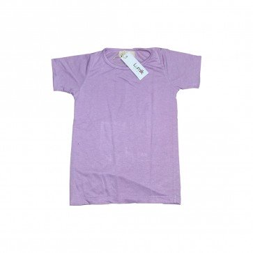 lumik-Lumik Light Purple Plain Tee-