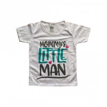 lumik-Lumik White Mommy's Little Man Tee Special Store-