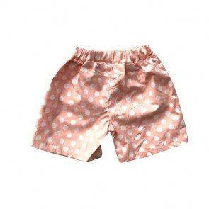 lumik-Peach Polka Short-