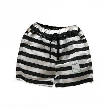 lumik-Green Stripes Short-