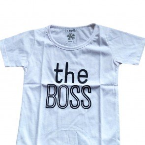 lumik-Lumik White The Boss Tee Special Store-