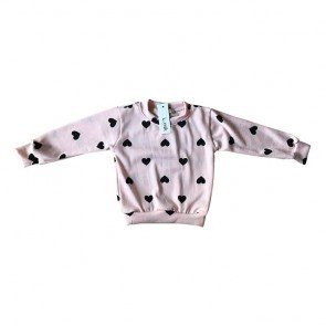 lumik-Pink Love Sweater-