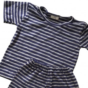 lumik-Lumik Purple Stripe Pajamas-