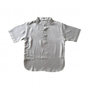 lumik-Lumik Khaki Plain Koko Short Sleeve-