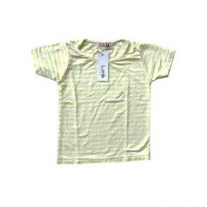 lumik-Yellow Stripes Tee-