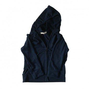 lumik-Navy Hoodie-