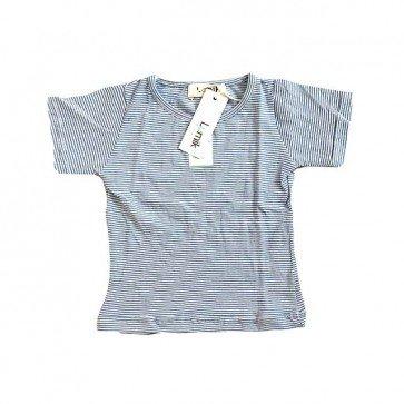 lumik-Tiny Blue Stripe Tee-