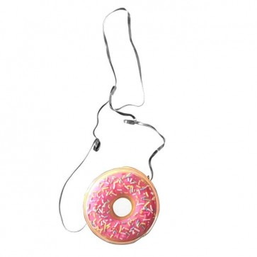 lumik-Pink Doughnut Sling Bag-