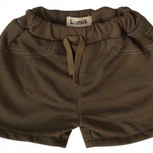 lumik-Brown Short-