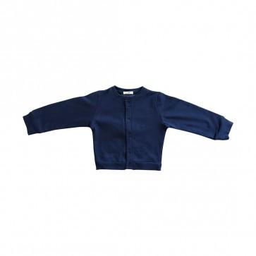lumik-Lumik Navy Plain Cardigan-