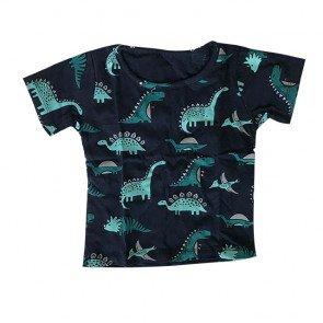 lumik-Navy Dinosaurus Tee Special Store-