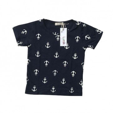 lumik-Navy Anchor Tee Special Store-