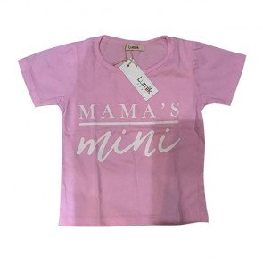 lumik-Mamas Mini Pink Tee Special Store-