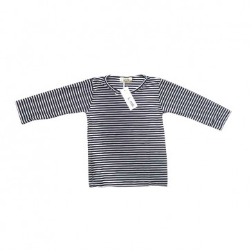 lumik-Tiny Black White Stripes Long Sleeves-