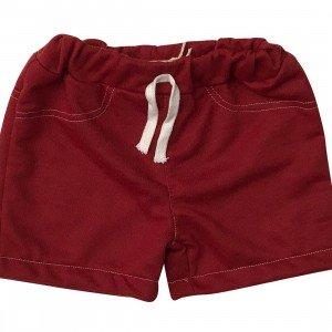 lumik-Lumik Maroon Plain Short-