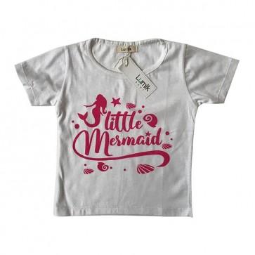 lumik-Little Mermaid White Tee Special Store-