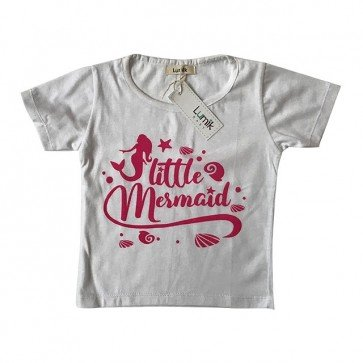 lumik-Little Mermaid White Tee Special Store-