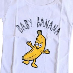 lumik-Lumik White Banana Tee Special Store-