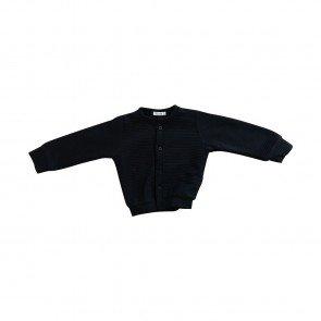 lumik-Lumik Black Plain Cardigan-