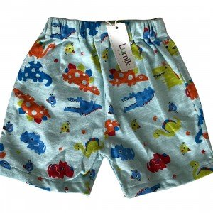 lumik-Lumik Blue Dino Short-