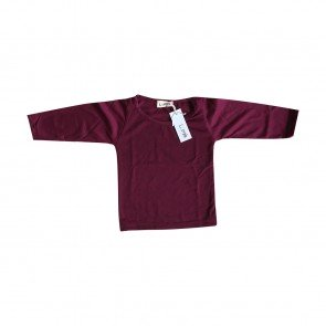 lumik-Maroon Long Sleeves-