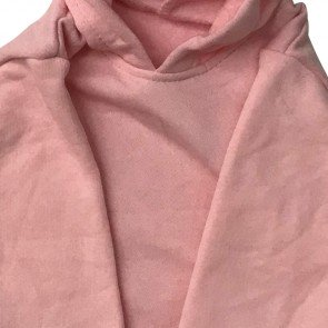 lumik-Dusty Pink Sweater Hoodie-