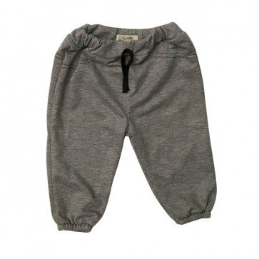 lumik-Grey Plain Jogger-