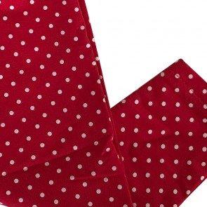 lumik-Lumik Red Polkadot Legging-