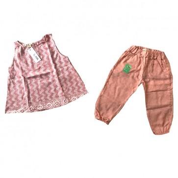 lumik-Dusty Pink Batik Girl-