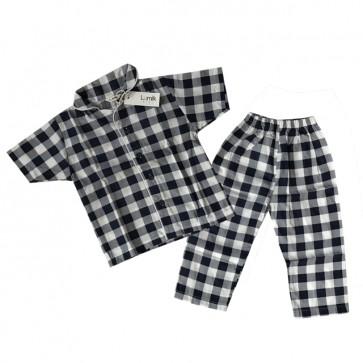 lumik-Navy Square Pajama-