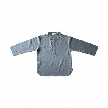 lumik-Lumik Grey Plain Koko Long Sleeve-