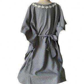 lumik-Grey Kaftan-