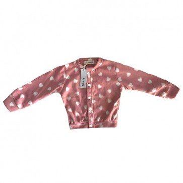 lumik-Cardigan Pink Love-