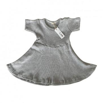 lumik-Grey Simply Dress-
