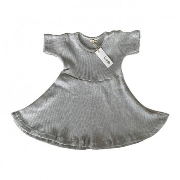 lumik-Grey Simply Dress-