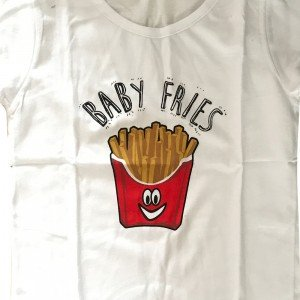 lumik-Lumik White Fries Tee Special Store-