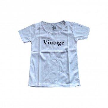 lumik-Lumik White Vintage Tee Special Store-