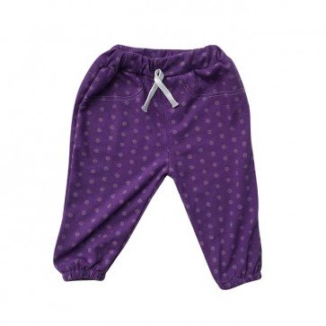 lumik-Purple Dot Jogger-